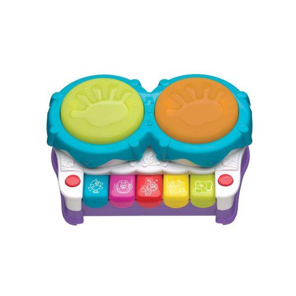 Playgro Музикална играчка 2в1 ПИАНО И БАРАБАНИ JERRY'S CLASS 0709